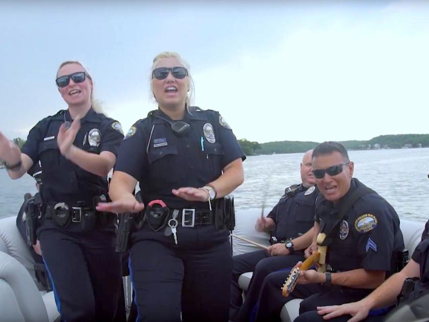 Lake Of The Ozarks Cops Do The Lip Sync Challenge, Lake