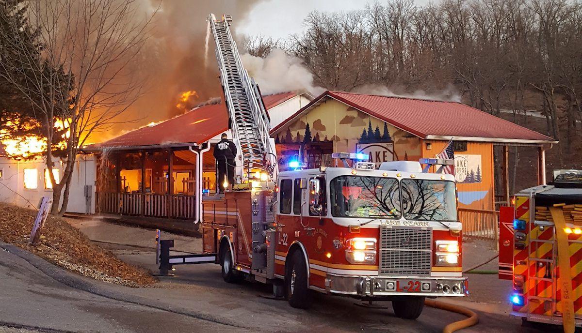 Lake House 13 On Fire