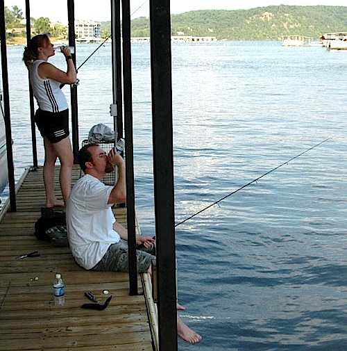 Fishing report a good time for catfishing on the lake for Fishing report lake of the ozarks