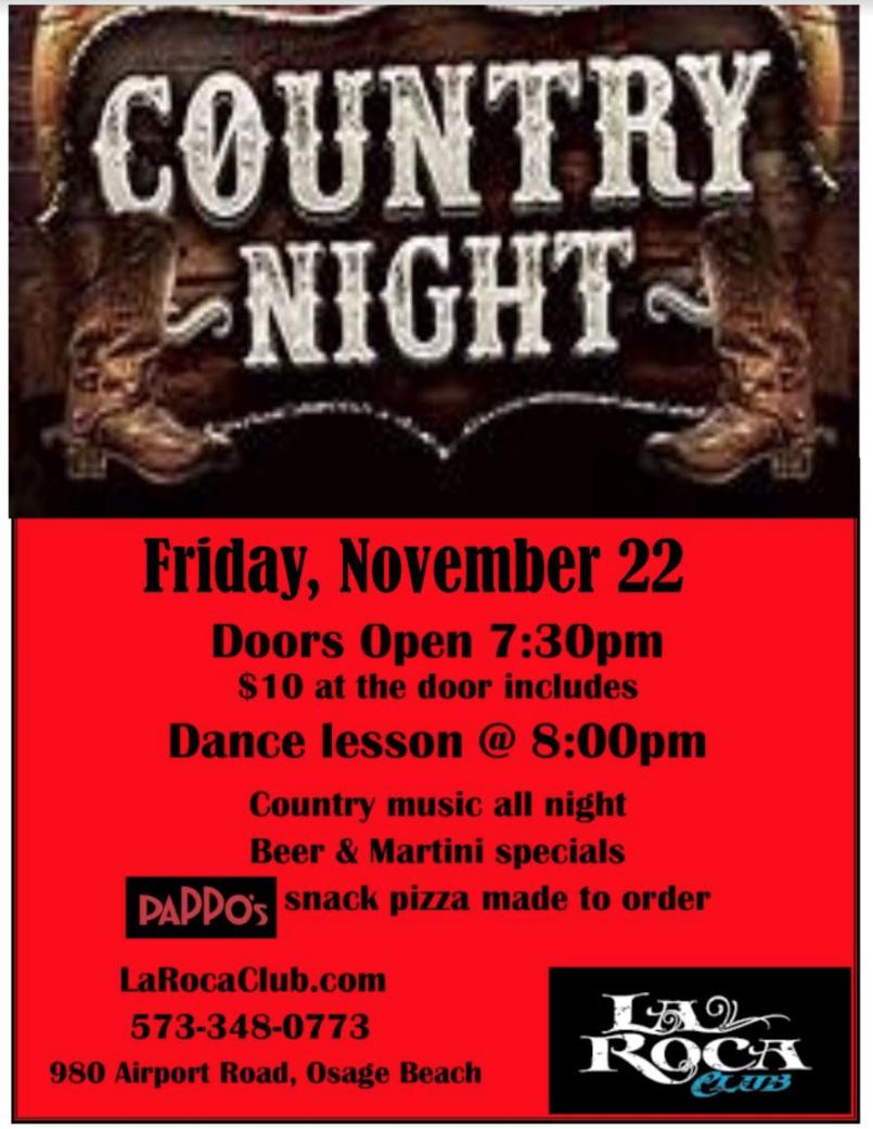 Nov Country Night Full Flyer