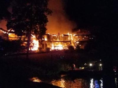 The Aftermath: Condo Fire Cause Is Undetermined | Lake of