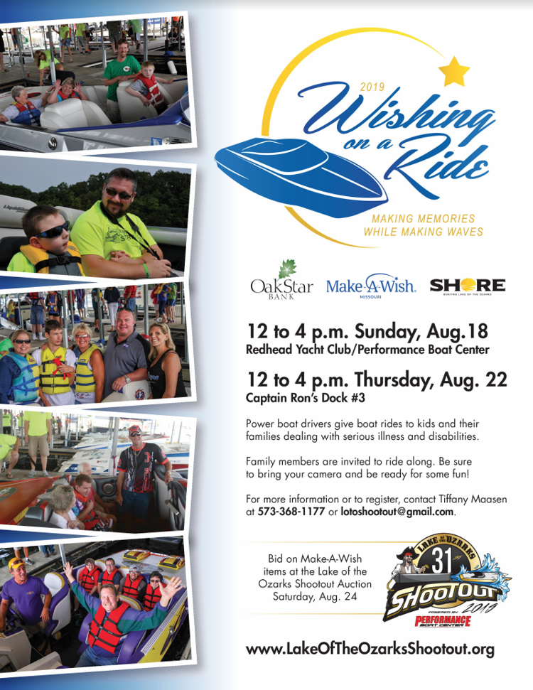 2019 Wishing On A Ride Flyer