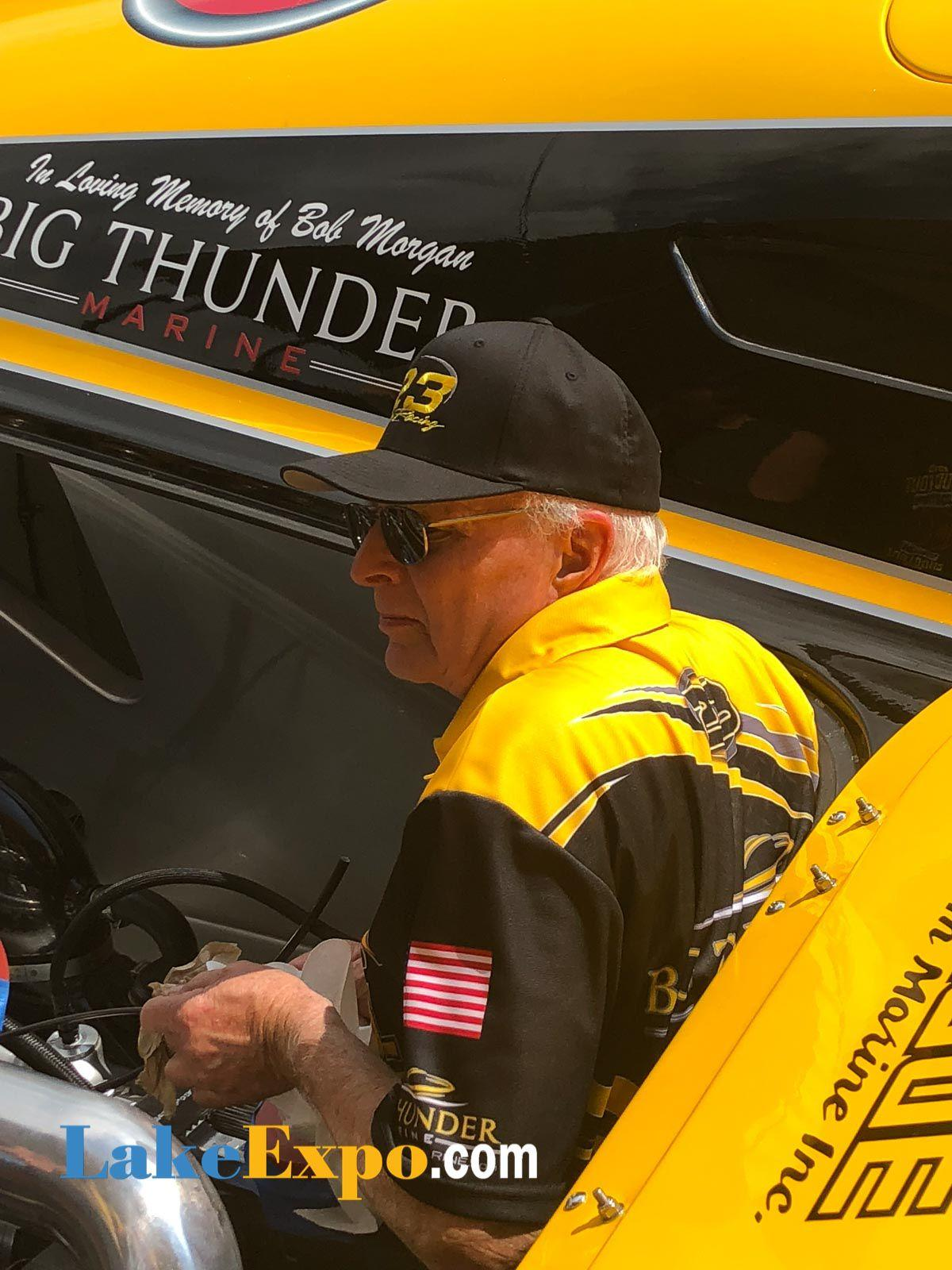 Don Onken Works On 'American Ethanol' In The Pits