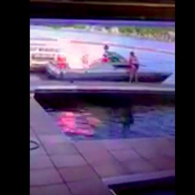 Boat Explosion At Paradise Bar & Grill