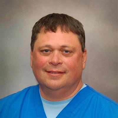 Lake Regional Emergency Department Director Shawn Andreasen