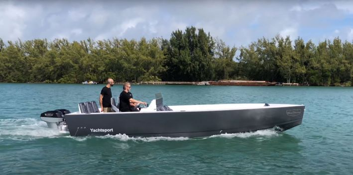 Vision Marine Powered Electric Boat