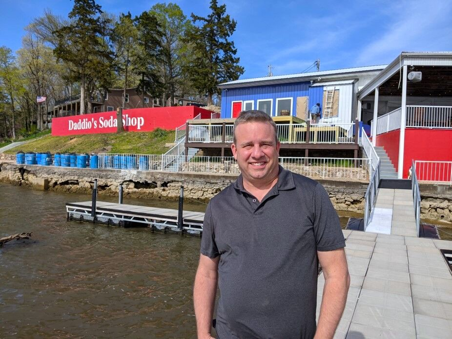 Jason Hughes at Daddio's Soda Shop