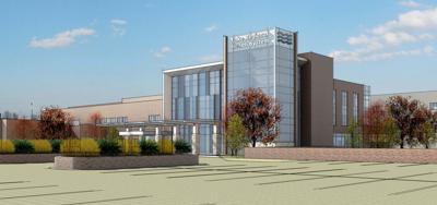 Cardiac/Cancer Center Building Plan