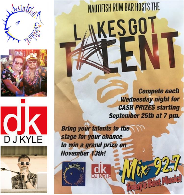Lake's Got Talent Flyer