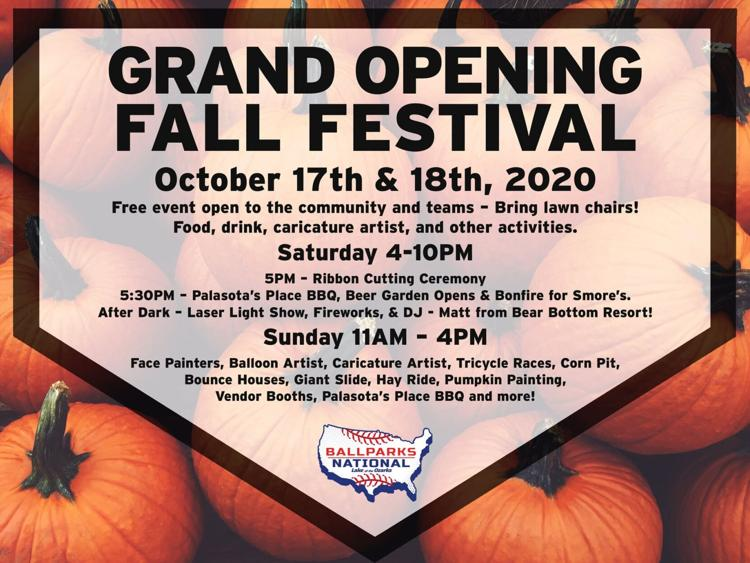 Grand Opening Fall Festival