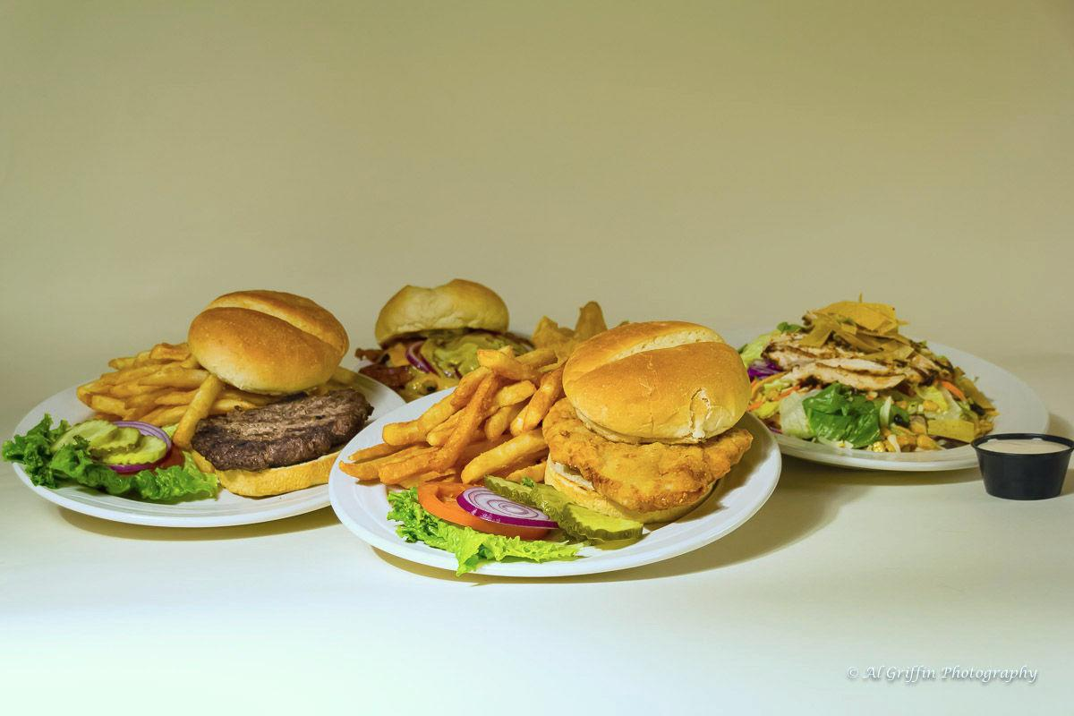 Menu Options From Lake Valley's Greenside Bar & Grill
