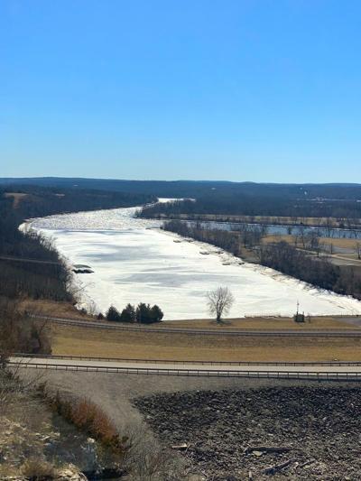Lake Of The Ozarks, Frozen, Below Truman Dam