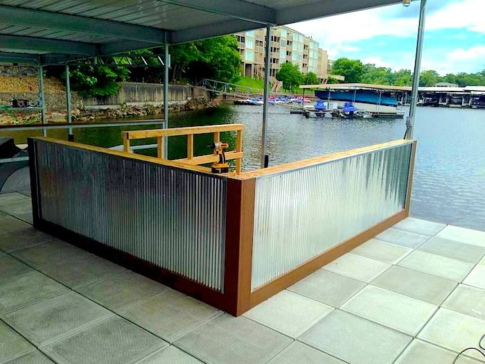 Select Dock Bars Offers A New Trend In Lake Leisure