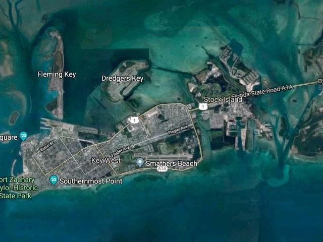 Sunken Boats In The Florida Keys Canals Are Still There From