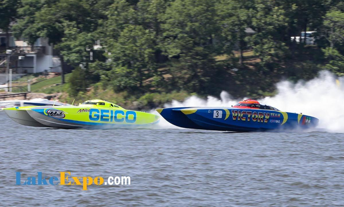 Miss GEICO & Victory Battle At Lake Race