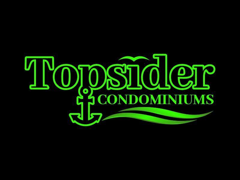 Topsider Condominiums - Black & Green Logo