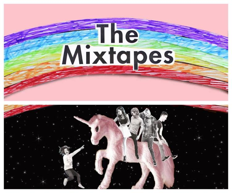 Mixtapes Collage