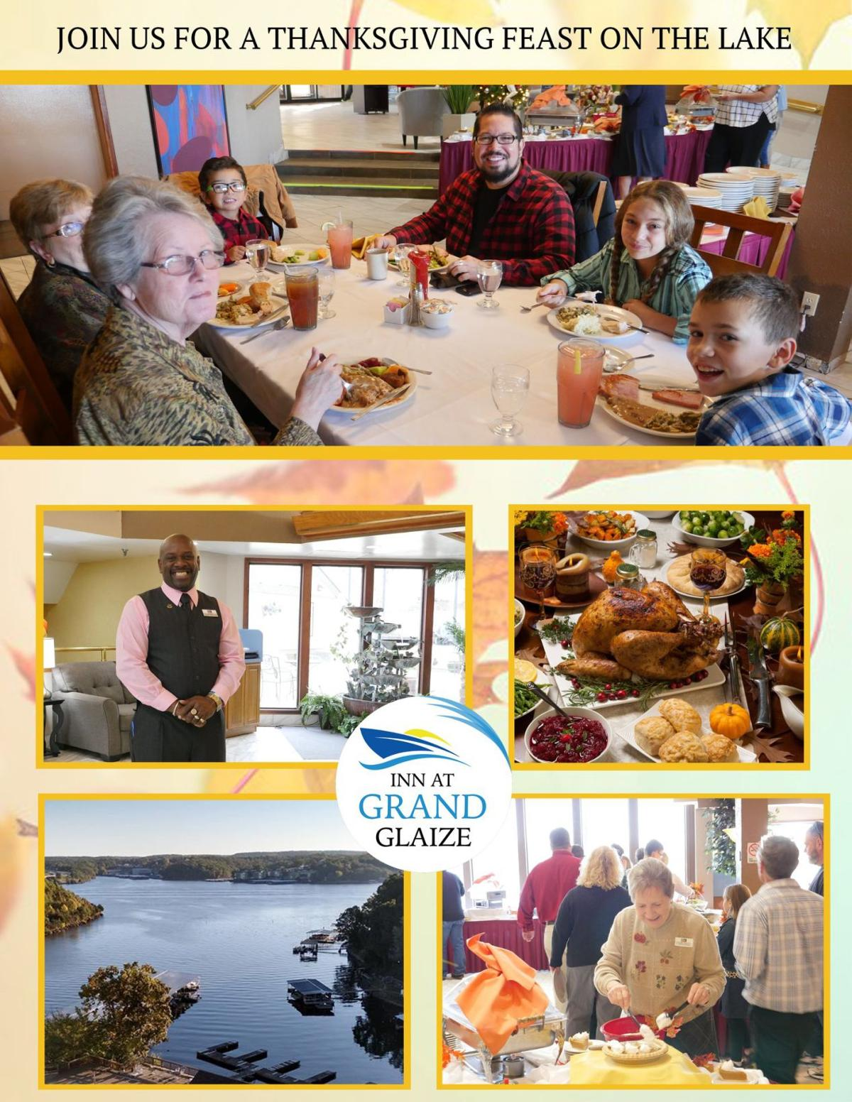 61 Family Friendly Living Room Interior Ideas: Thanksgiving Feast At The Inn At Grand Glaize