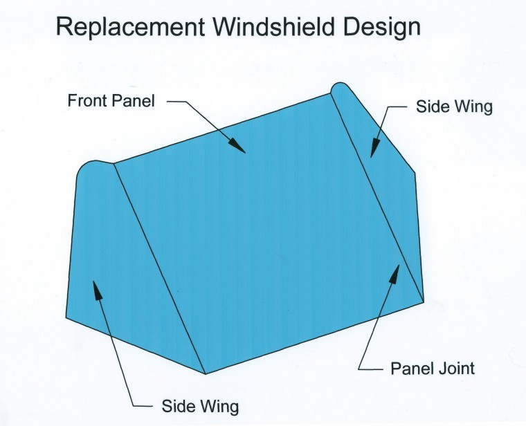 How To Make A Custom Boat Windshield Boat Projects