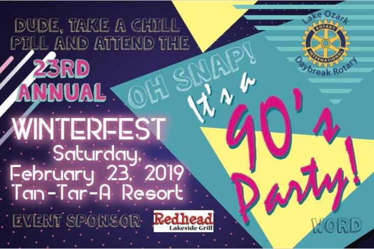 Winterfest 2019 - It's a 90s Party! | Charity Events