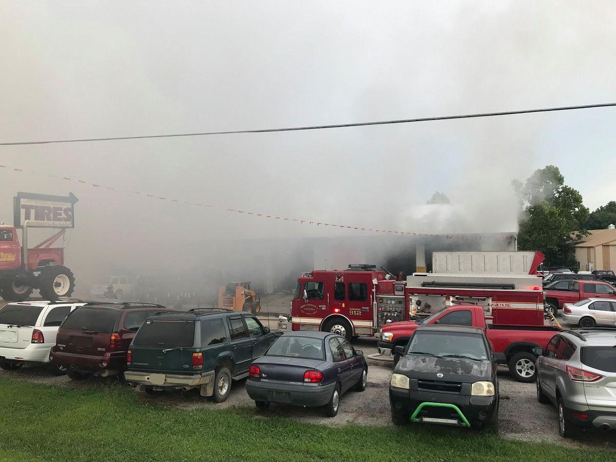 two alarm fire ravages auto shop in camdenton lake of the ozarks news lakeexpo com two alarm fire ravages auto shop in