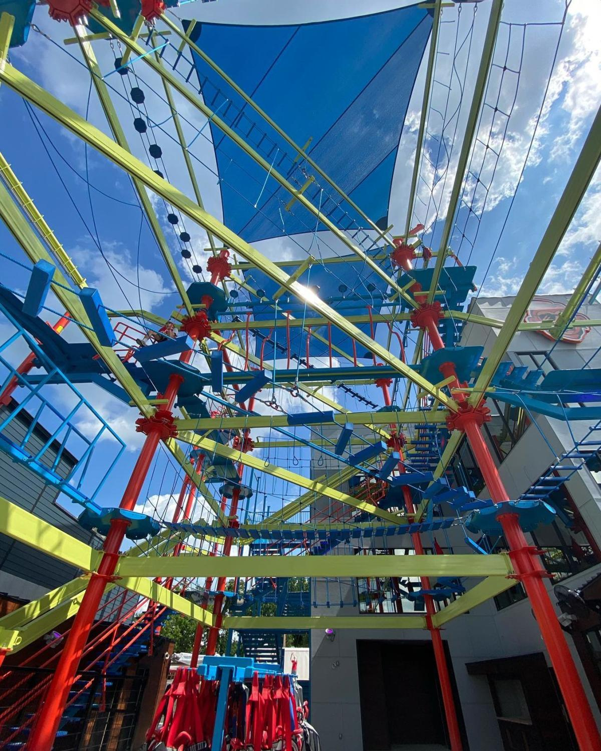 The Malted Monkey Ropes Course