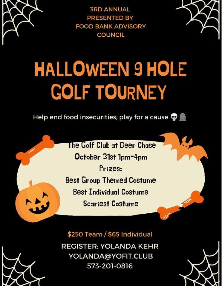 2021 Food Bank Advisory Council Halloween 9 Hole Golf Tourney