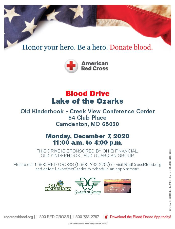 12/7/20 Blood Drive