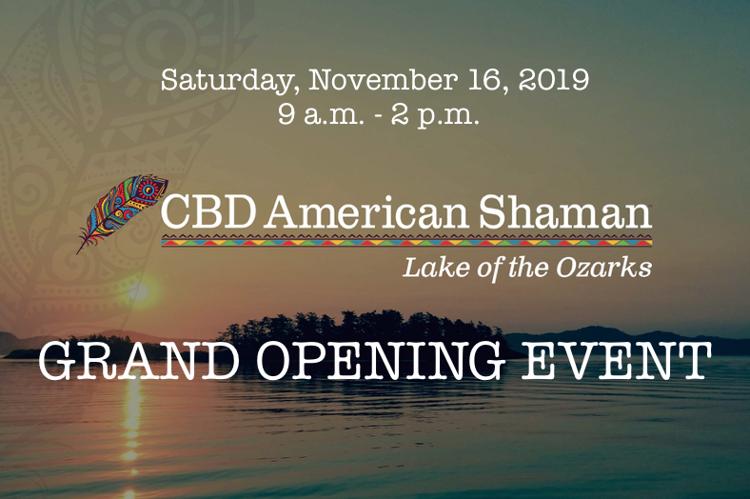 CBD American Shaman Grand Opening
