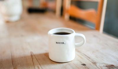 Begin - Coffee Mug
