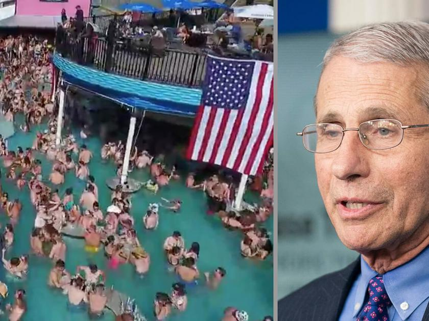 Dr. Fauci Troubled By Lake Of The Ozarks Pool Partiers