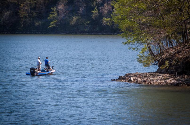 Spring Fishing Boat