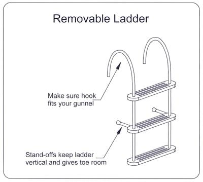 Removable Ladder