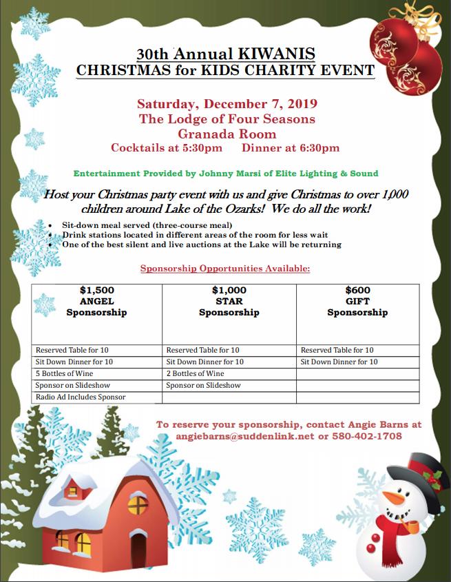 Christmas for Kids 2019 Flyer