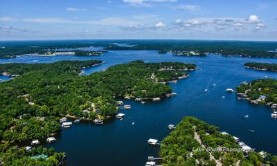 Lake Of The Ozarks - Aerial - Lakefront Homes