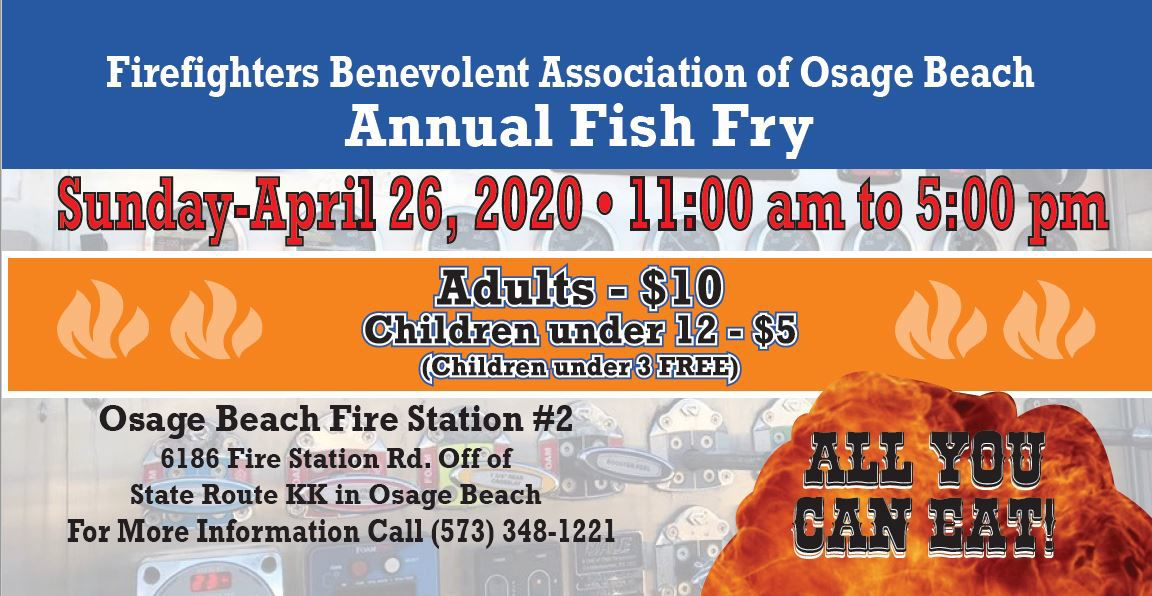 Osage Beach Firefighters Fish Fry 2020