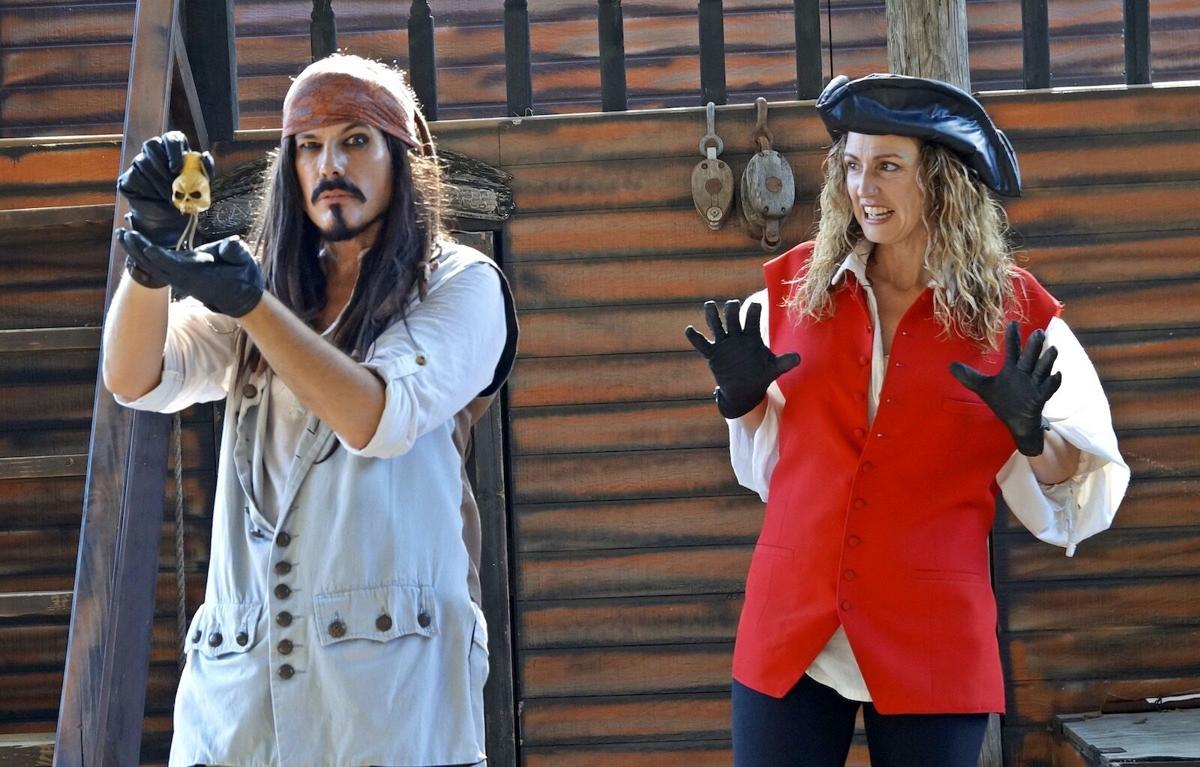 Captain Scalawag at Jolly Roger's