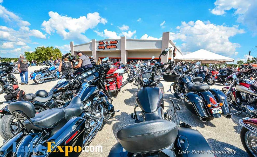 Bikefest Officially Underway Across The Lake Area