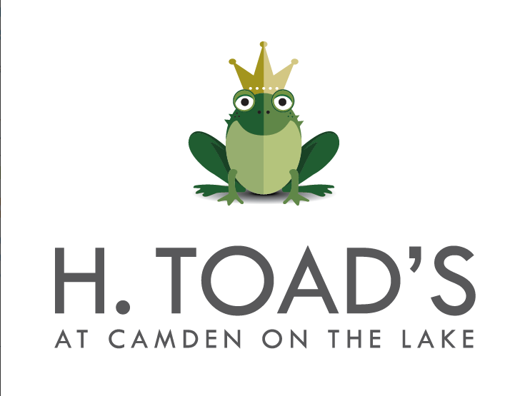 H. Toad's Camden on the Lake Logo