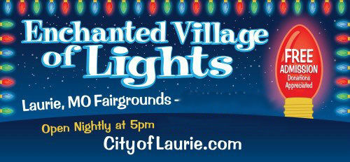 Laurie Enchanted Village of Lights