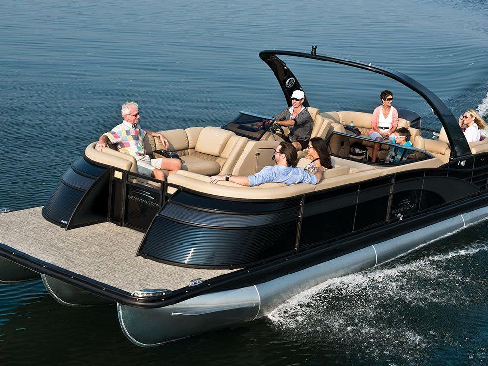 This Is THE Pontoon Boat For A Luxury Crowd
