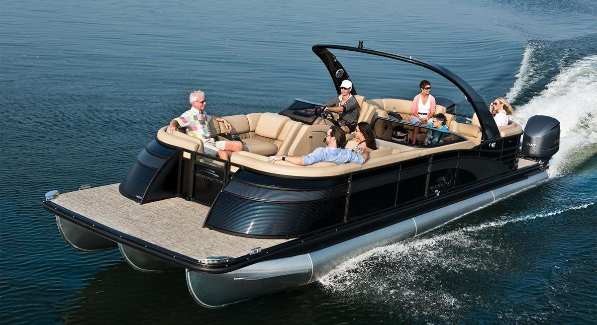 This Is THE Pontoon Boat For A Luxury Crowd | Lake Expo ...