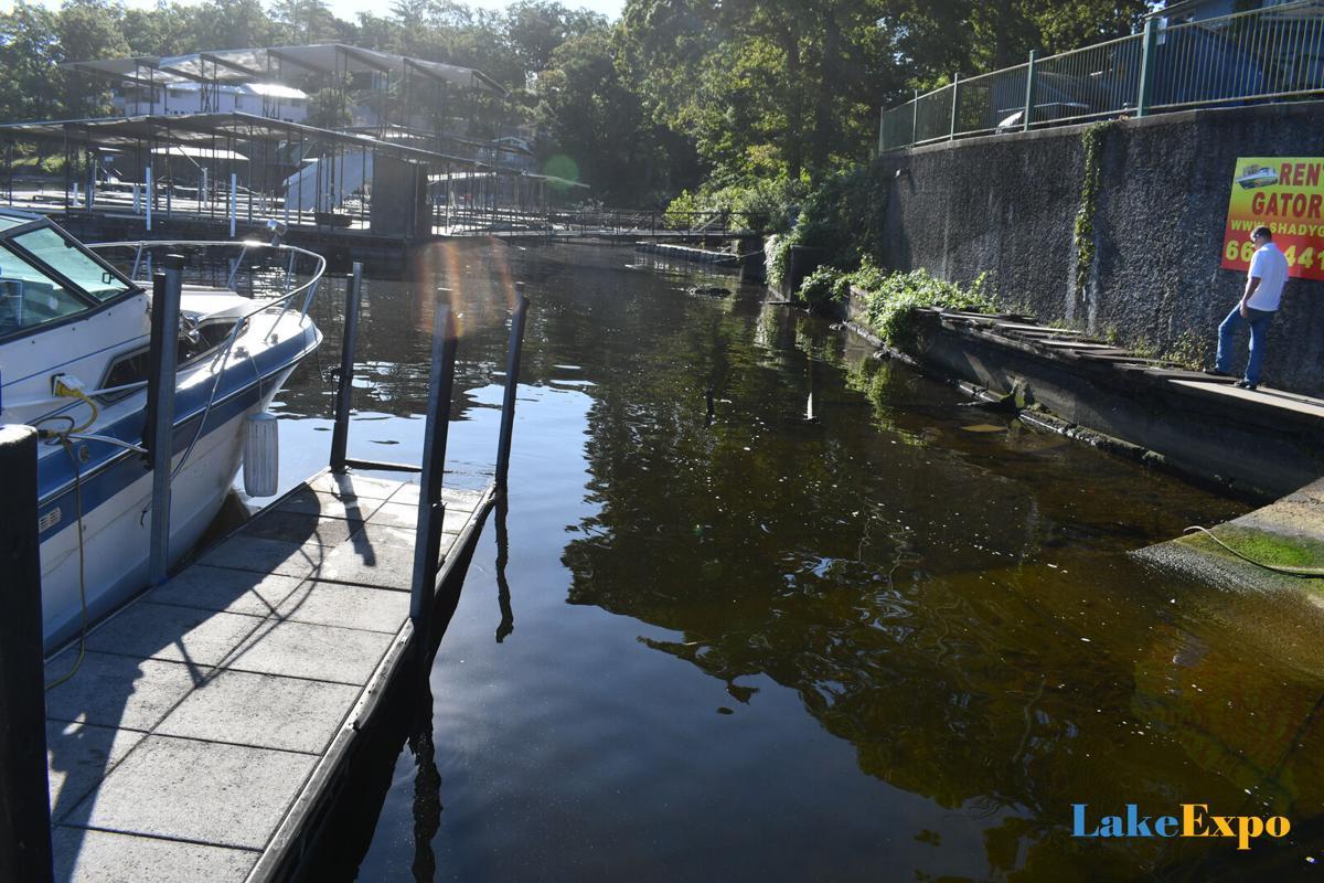 Shady Gators Dock Where Gun Was Retrieved