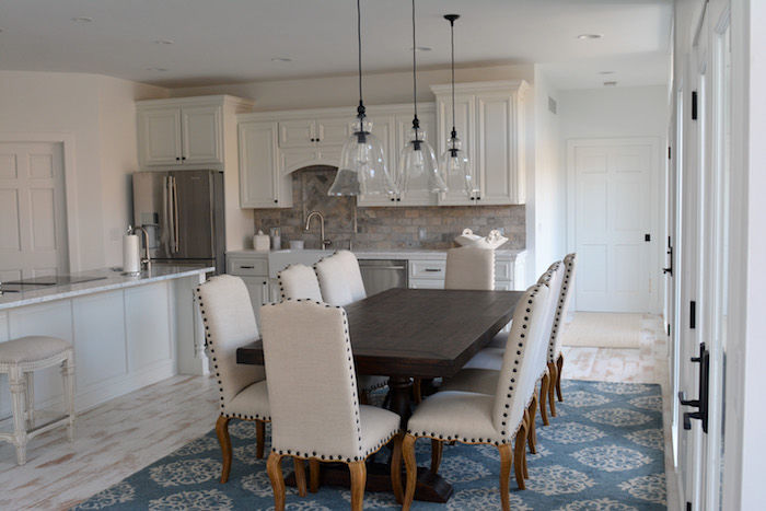 Home Built By Otto Construction - Dining Area