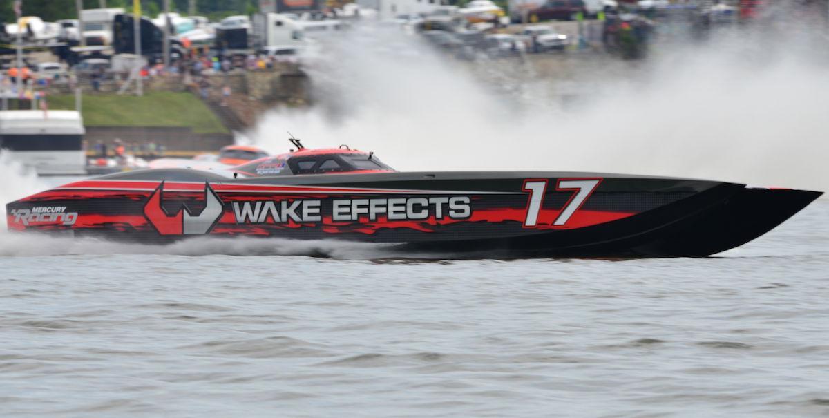 'Wake Effects' at Lake Race 2017