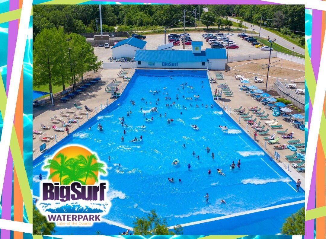 Big Surf Wave Pool Fun