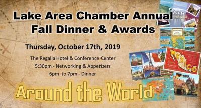 Lake Area Chamber Fall Dinner/Awards Invite