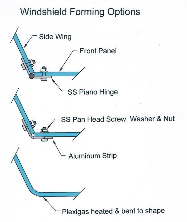 How to make a custom boat windshield | Boat Repair and DIY Projects ...