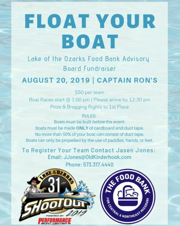 Float Your Boat Flyer