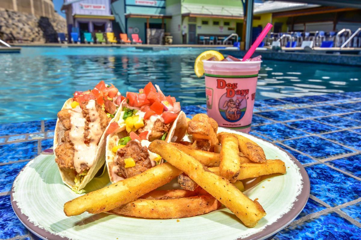 Dog Days Baja Lobster Tacos